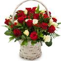 빨강장미 꽃바구니
